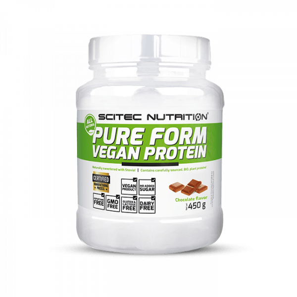 SCITEC NUTRITION Pure Form Vegan Protein 450g