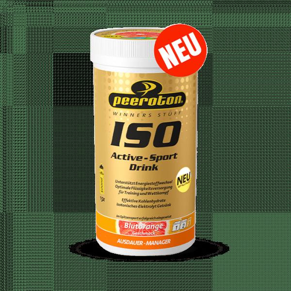 PEEROTON ISO Active-Sport Drink, 300G - Blutorange - MHD 31.03.2021