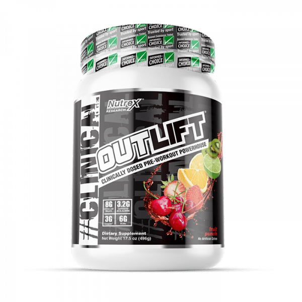 NUTREX RESEARCH - OUTLIFT (20 SERV) FRUIT PUNCH