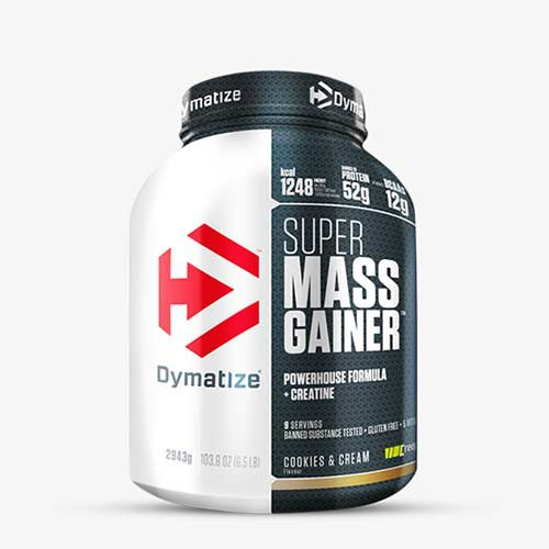 DYMATIZE - Super Mass Gainer 2943g Gainers/Kohlenhydrate