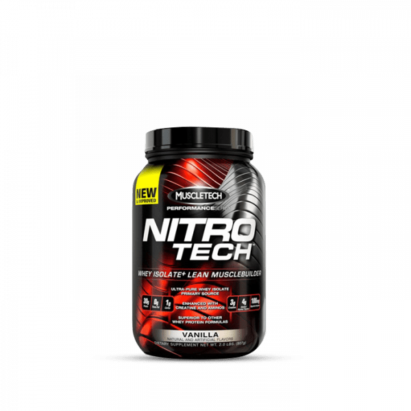 MUSCLETECH - Performance Series Nitro-Tech 908g - Vanilla Proteine