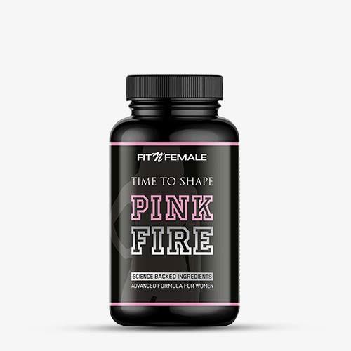 FITNFEMALE Fatburner Pink Fire 90 Kapseln