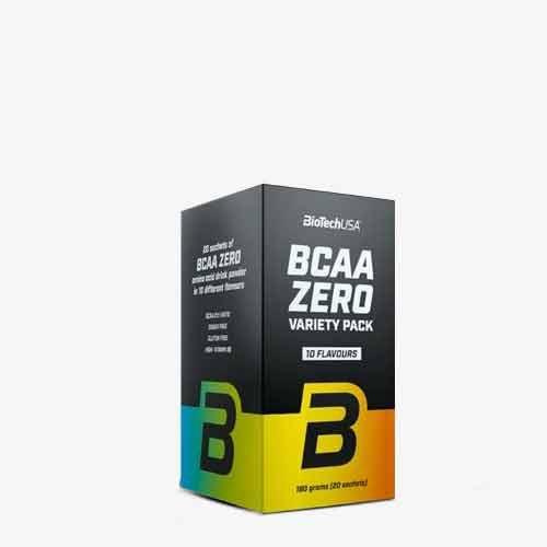 BIOTECHUSA BCAA Zero Variety Pack 20 x 9g Aminos