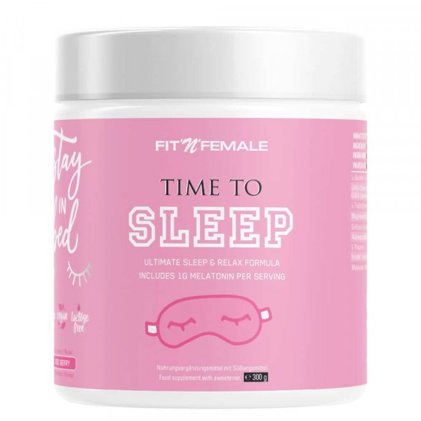 FITNFEMALE Time to Sleep 300g - Red Berry