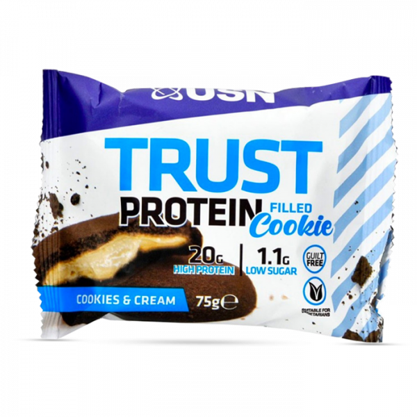 USN Trust Filled Protein Cookie, 12x75g