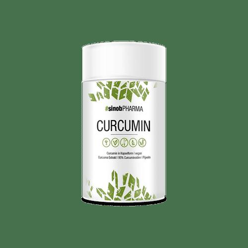 SINOB Curcumin 95% 60 Kaps, 95% Curcuminoide Health Produkte