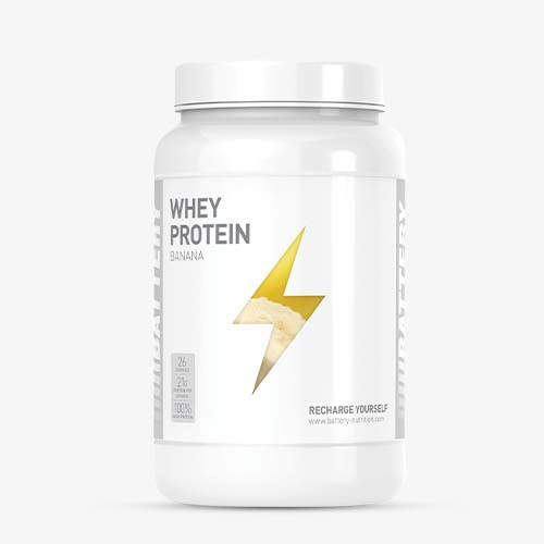 BATTERY WHEY PROTEIN 800g Proteine