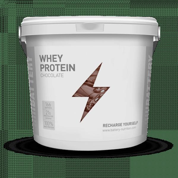 BATTERY WHEY PROTEIN 5000g Proteine