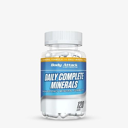 BODY ATTACK Daily Complete Minerals 120 Kapseln Vitamine und Mineralien