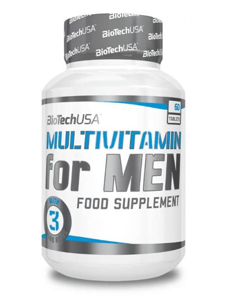 BioTechUSA Multivitamin for Men, 60 Tabletten Vitamine und Mineralien