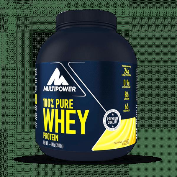 MULTIPOWER 100% Pure Whey 2000g Proteine - Banana Mango - MHD 31.10.2020