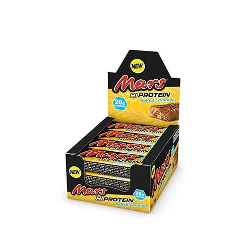 MARS PROTEIN - Mars High Protein Bar 12x59g - Salted Caramel Bars und Snacks