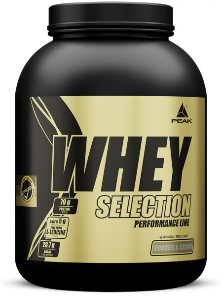 Peak - Whey Selection (1800g) Proteine