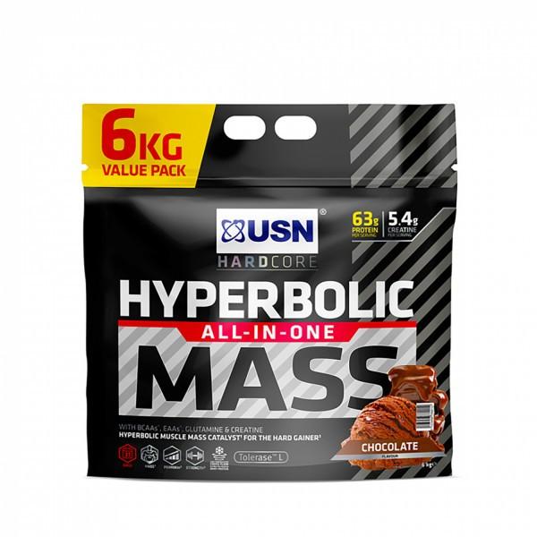 USN HYPERBOLIC MASS - BAG 6000g Gainers/Kohlenhydrate