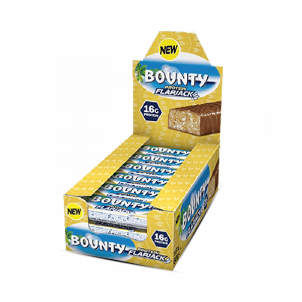 Mars Protein - Bounty Protein Flapjack (18 x 60g) Bars und Snacks