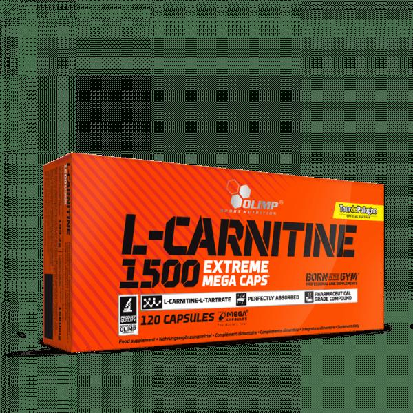OLIMP L-Carnitine 1500 Extreme Mega Caps®, 120 Kapseln