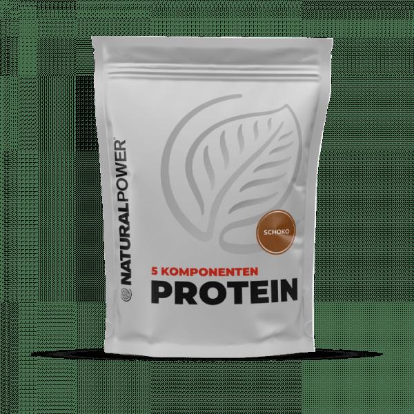 NATURAL POWER 5 Komponenten Protein, 1000g