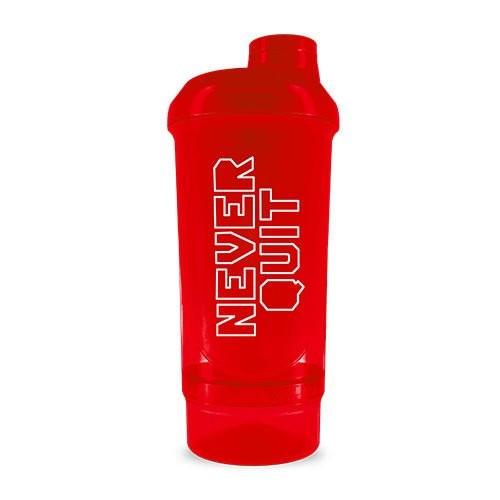 "BioTechUSA Shaker Wave+ ""Never Quit"" 500ml Rot Trainingszubehör"