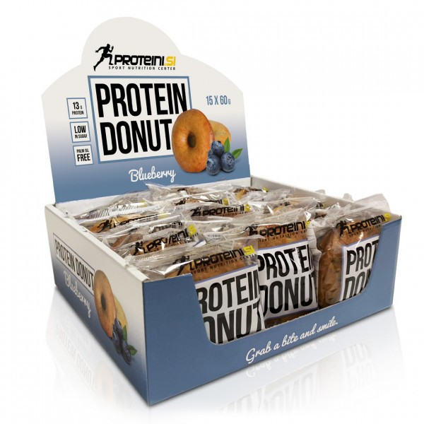 PROTEINI.SI Protein Donut, 15x60g