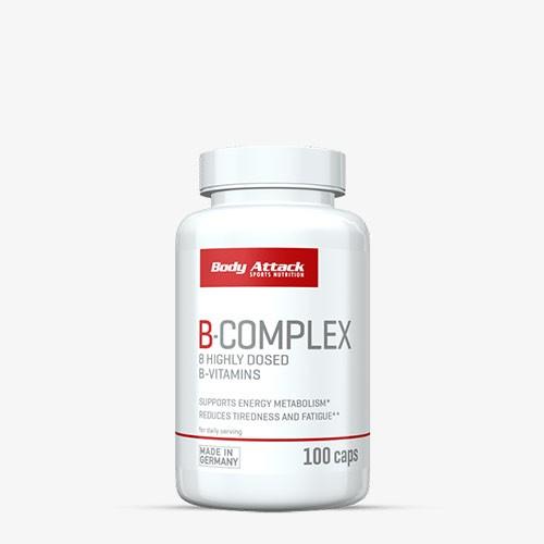 BODY ATTACK B-Complex 100 Kapseln Vitamine und Mineralien
