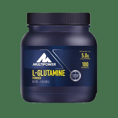 MULTIPOWER L-Glutamin powder 500g neutral