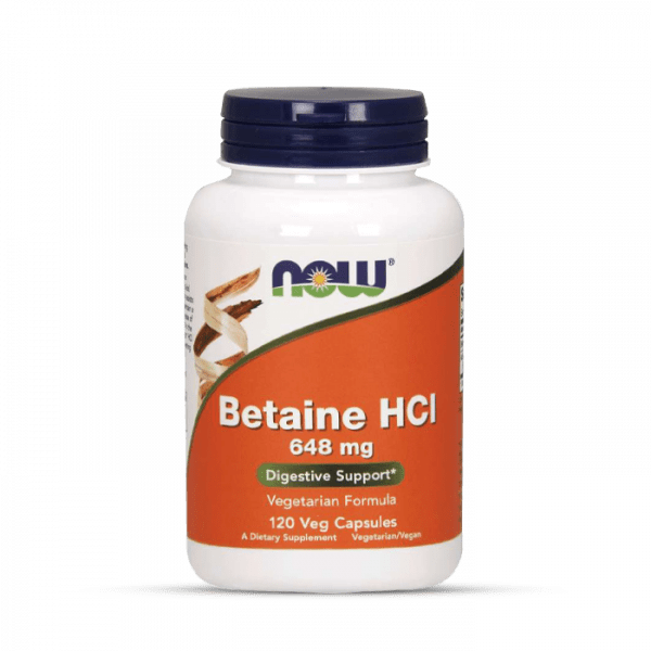 Now Foods - Betaine HCI (120) Standard Health Produkte