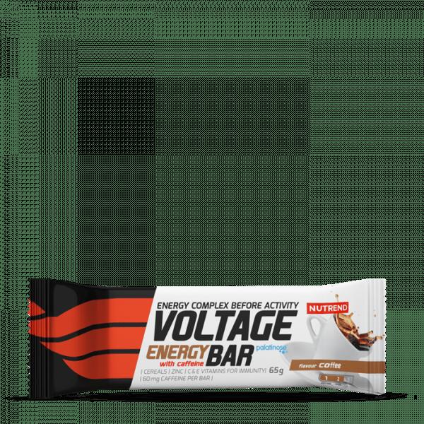 NUTREND VOLTAGE ENERGY BAR WITH CAFFEINE 25 x 65g Bars und Snacks