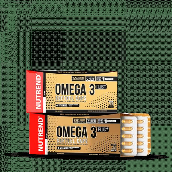 NUTREND OMEGA 3 PLUS SOFTGEL Kapseln, 120 Kapseln Health Produkte