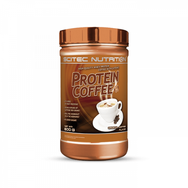 Scitec Protein Coffee 600g (zuckerfrei)