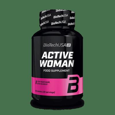 BioTechUSA Active Women, 60 Tabletten Vitamine und Mineralien