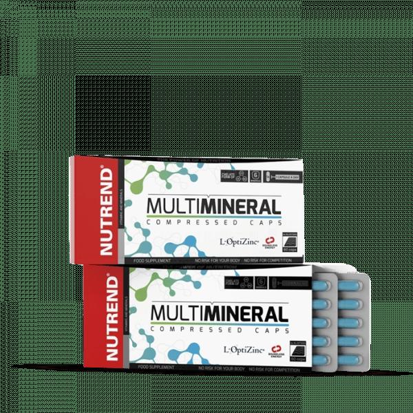 NUTREND MULTIMINERAL COMPRESSED Kapseln, 60 Kapseln Vitamine und Mineralien