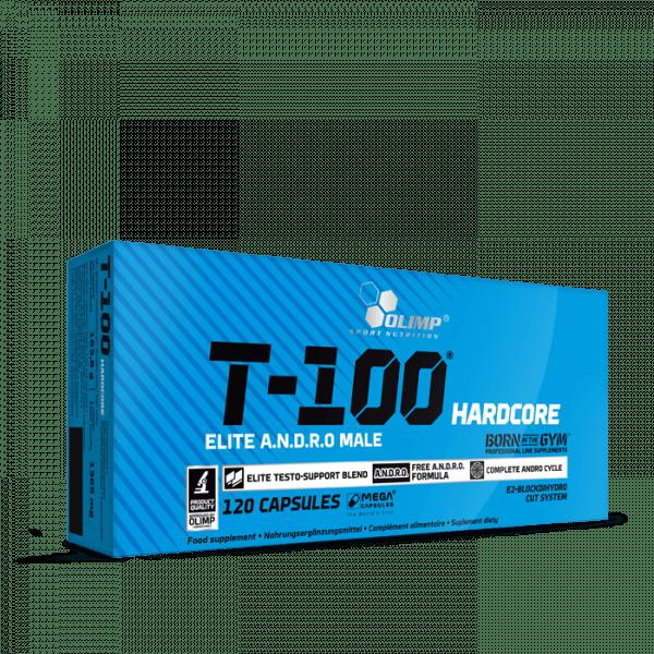 OLIMP T-100® Hardcore Mega Caps®, 120 Kapseln
