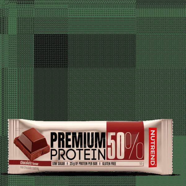 NUTREND PREMIUM PROTEIN 50 BAR, 16 x 50g Bars und Snacks