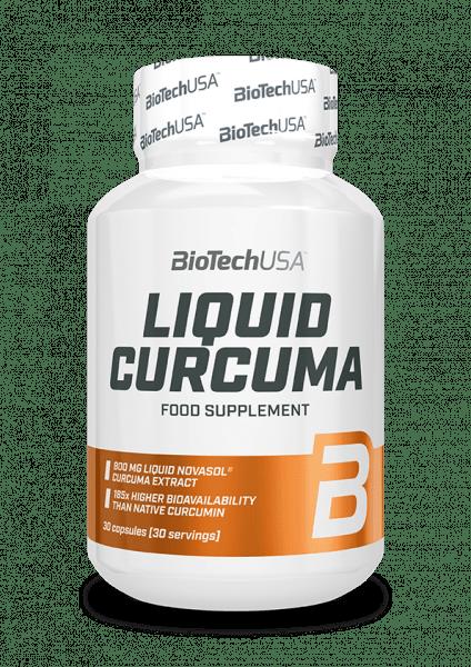 BIOTECHUSA Liquid Curcuma 30Kapseln