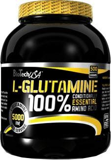 BIOTECHUSA 100% L-Glutamine, 500g Aminos