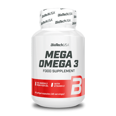 BioTechUSA Mega Omega 3, 90 Kapseln Health Produkte