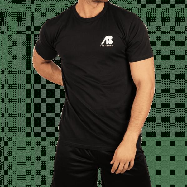 ATOMBODY T-Shirt MUST HAVE, men, L, black Sportbekleidung