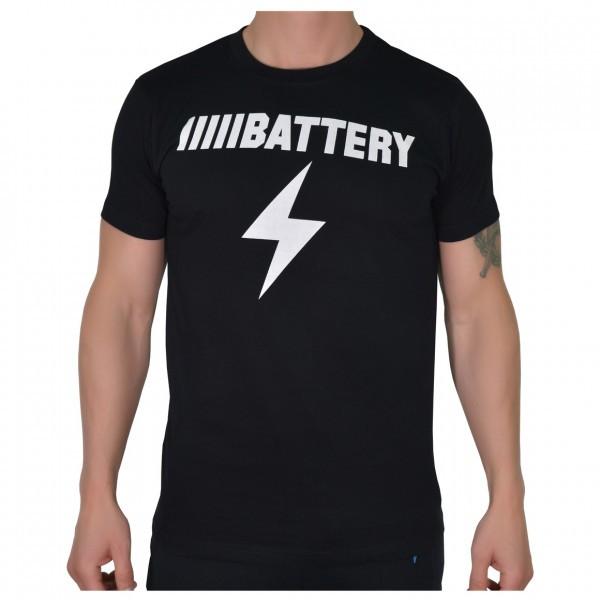 BATTERY Shirt schwarz Sportbekleidung