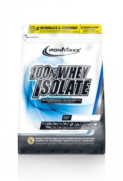 IRONMAXX 100% Whey Isolate Beutel 750g - Banane - MHD 30.06.2021
