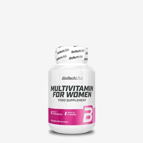 BIOTECHUSA Multivitamin for Women 60 Tabletten Vitamine und Mineralien