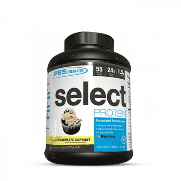 PES Select Protein 1800g Proteine - Chocolate Cupcake - MHD 31.05.2021