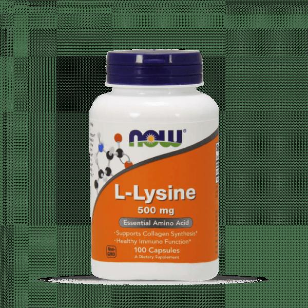 Now Foods - L-Lysine 500mg (100) Standard Aminos
