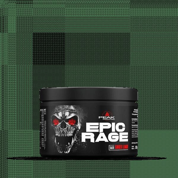 PEAK Epic Rage 300g Ginger Lemon Trainings Booster