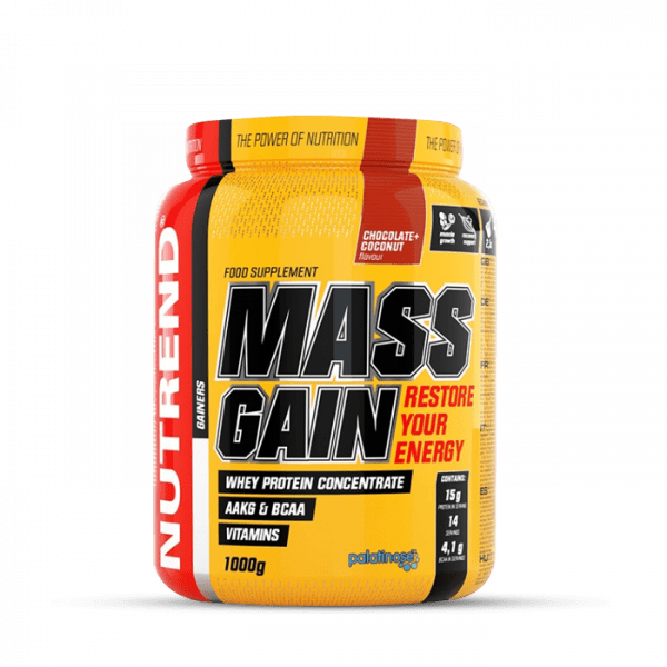 NUTREND MASS GAIN 1000g Gainers/Kohlenhydrate