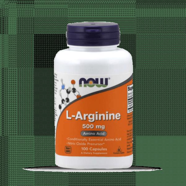 Now Foods - L-Arginine 500mg (100) Standard Aminos