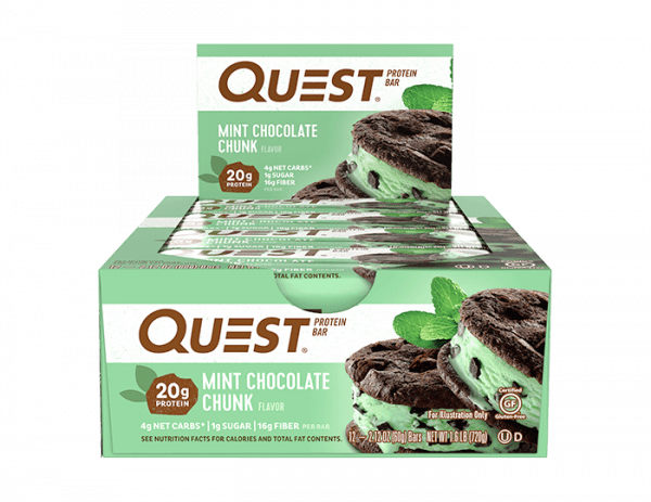 Quest Nutrition - Quest Bars, (12 x 60g) Bars und Snacks