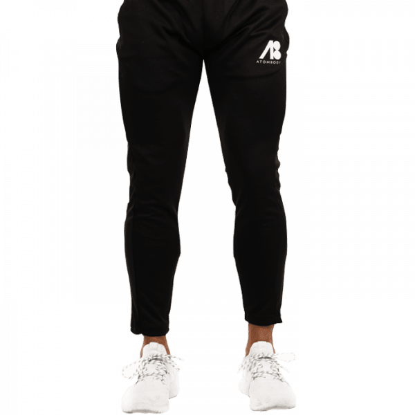ATOMBODY Trainingshose Slim Fit Jogger, men, M, black Sportbekleidung