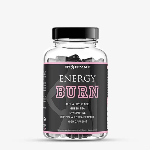 FITNFEMALE Fatburner Energy Burn 120 Kapseln