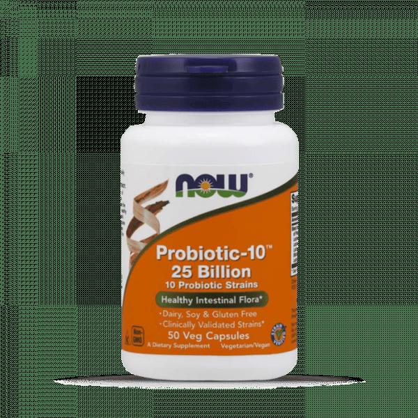Now Foods - Probiotic-10™ 25 Billion, 50, Standard Health Produkte