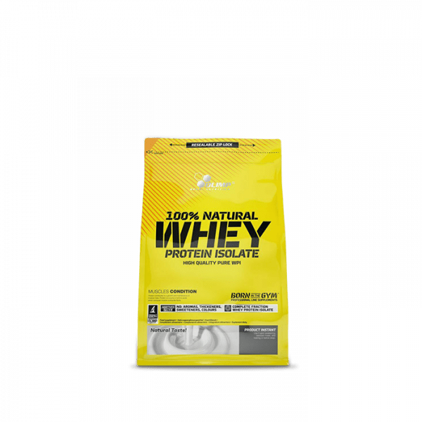 OLIMP 100% Natural Whey Protein Isolate, 600g, Neutral Proteine